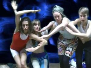 Moontubers: Rebecca Jensen, Sarah Aiken, Natalie Abbott, Janine Proost