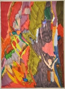 Rebecca Scibilia, 'Not titled', 2010, felt pen paper, 38 x 28 cm, Courtesy the artist and Arts Project Australia