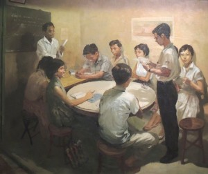 Chua Mia Tee, National Language Class, 1955 (Image (c) National Collection, Singapore)