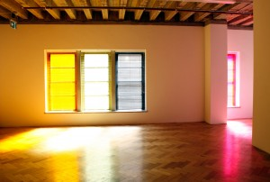 Taree Mackenzie and Ronen Becker, 'Glow', 2013, venetian blinds and perspex