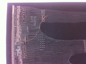 Justin Trendall, 'Pilbara Block' (detail), 2013, archival digital print and cotton, 46.0 x 32.0 cm