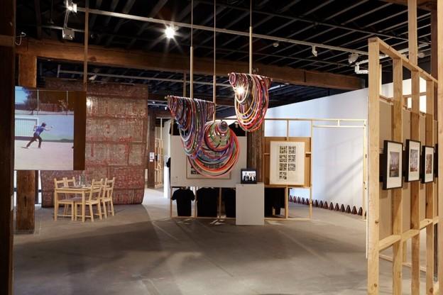 Art as a Verb, installation view, Artspace, Sydney, 2015. Photo by Zan Wimberle