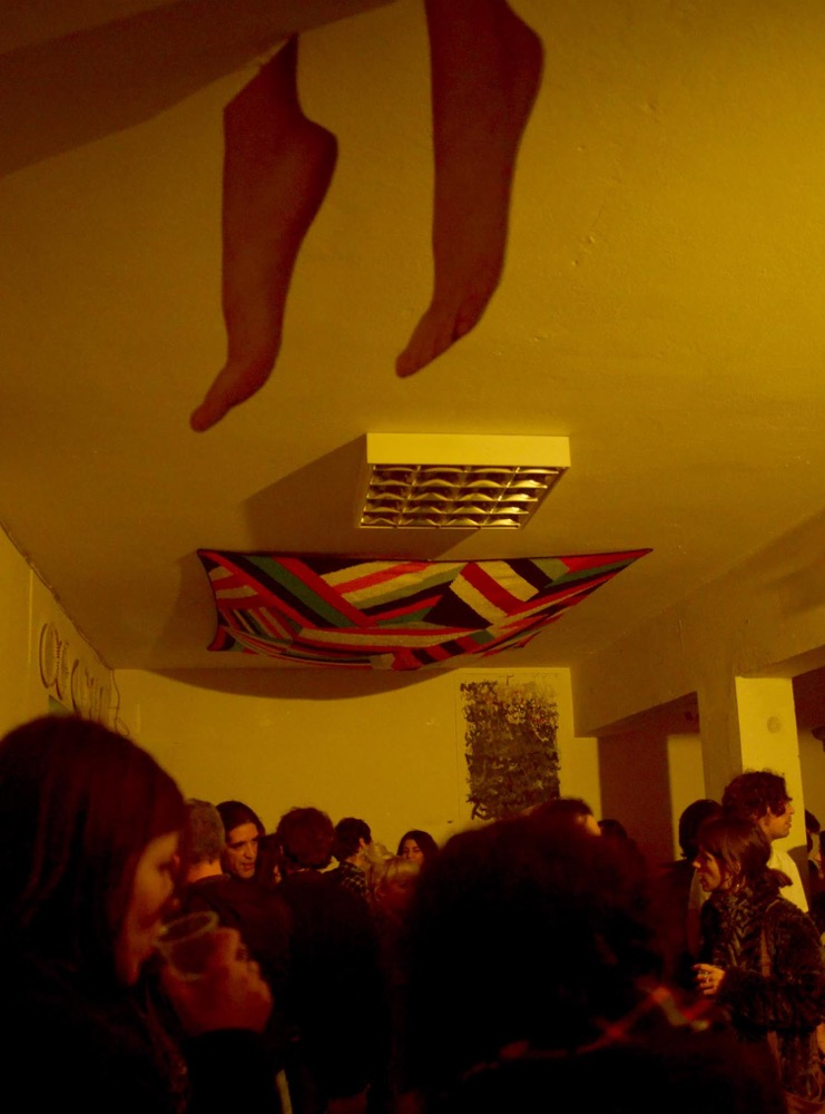 'Hang 'Em High #1', installation view, Velvet Room, Athens, 17 January 2015