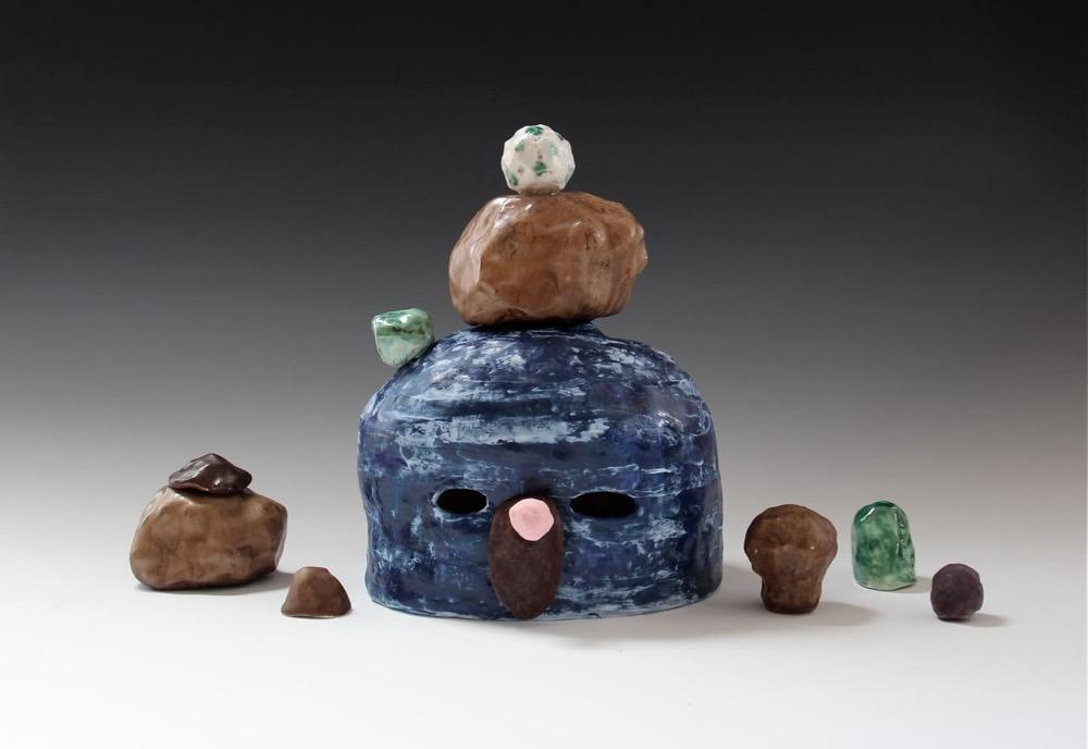 Lynda Draper, 'Mel', 2014, ceramic, various glazes, 30 x 50 x 20 cm