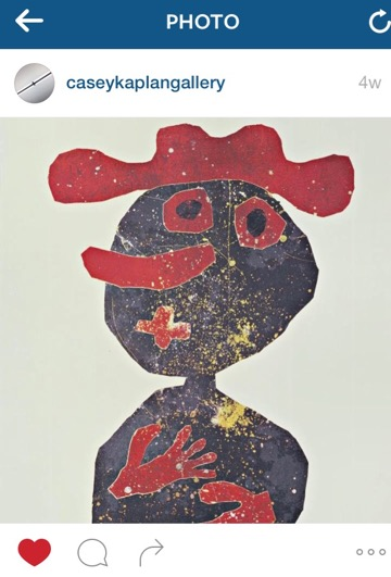 The genius of #JeanDubuffet by @caseykaplangallery