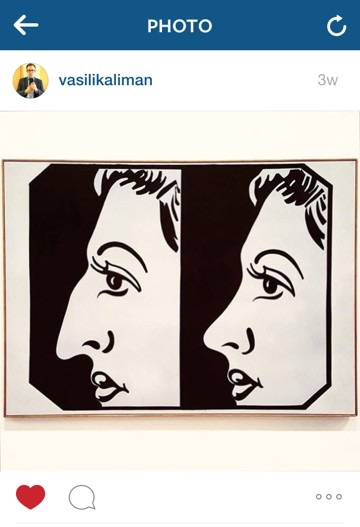 Before and After, 4, 1962 by Andy Warhol at the Whitney Museum. Posted by @vasilikaliman