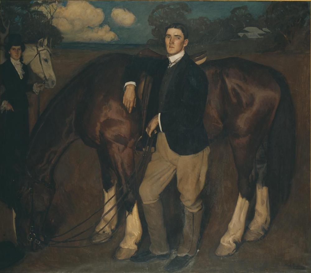 Hugh Ramsay, An equestrian portrait, 1903