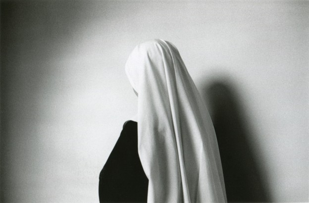 Anne Noble, 'White Veil of a Novice', 1988, edition 22/30, Selenium toned silver print. Image courtesy of Two Rooms